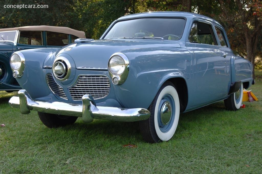 My first car A 1951 Studebaker Champion It was 8 years old by