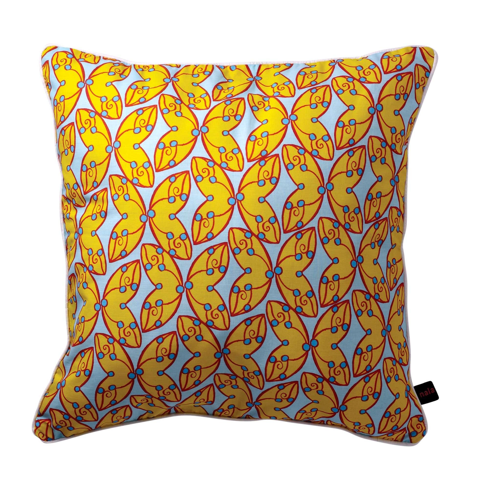 Yellow Mellow Pillow Cover Photo