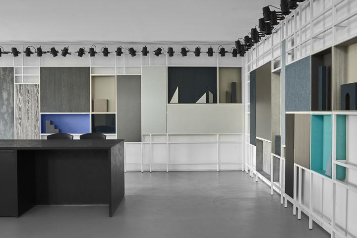 The Four Elements Cleaf showroom by Studiopepe, Lissone – Italy