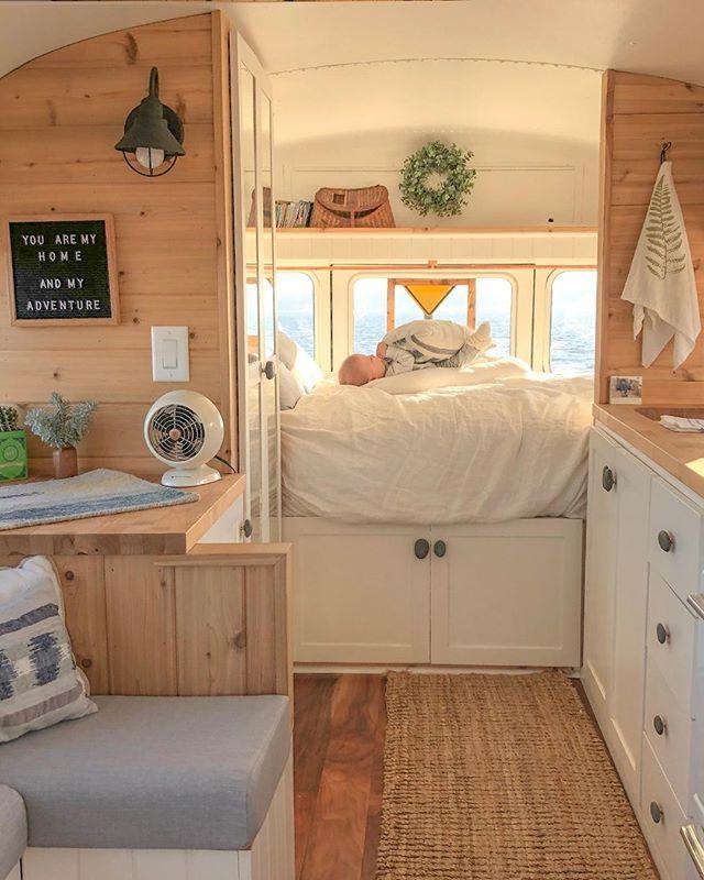 My Scandinavian Home Myscandinavianhome Photos Et Videos Instagram Caravan Renovation School Bus Tiny House Tiny House Living