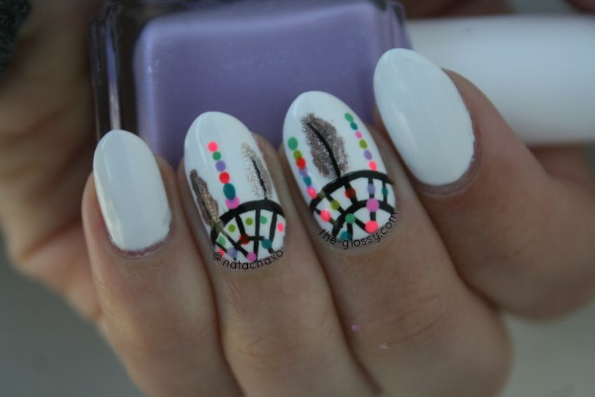 Dreamcatcher nail art - Google Search - Dreamcatcher Nail Art - Google Search Nail & Hand Art & Designs