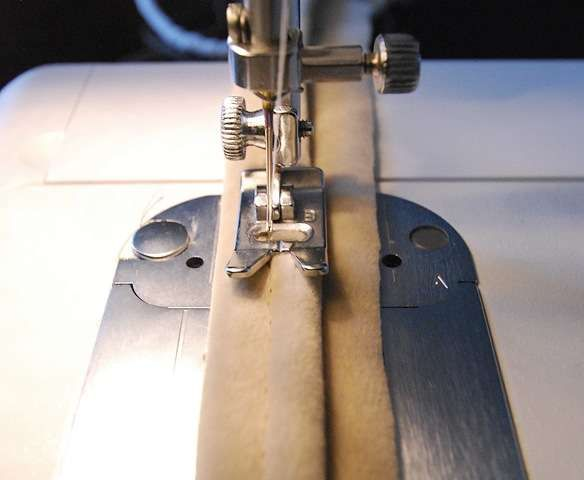 How To Do Double Welting Using A Zipper Foot Very Cool