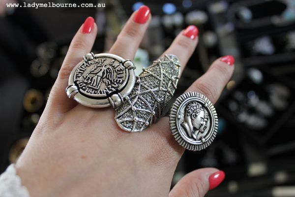 I'd be happy with each & every one of these on my fingers.