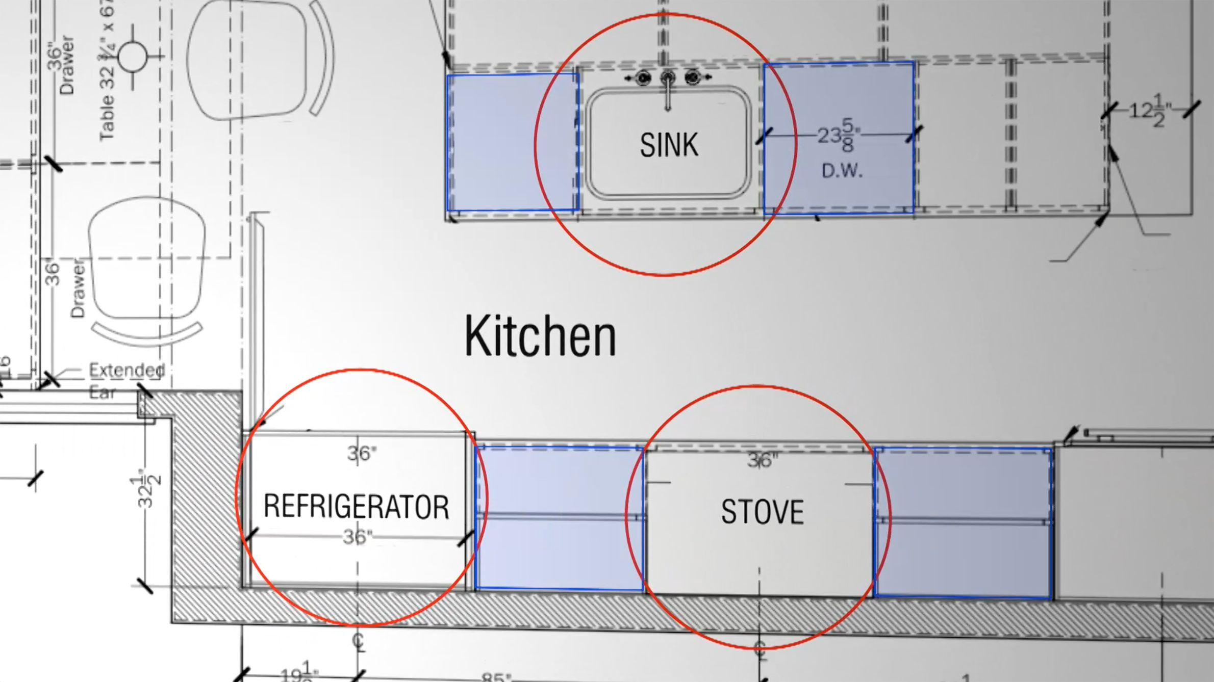 Kitchen Solutions: Kitchen Design Basics | Kitchen design, Kitchens ...