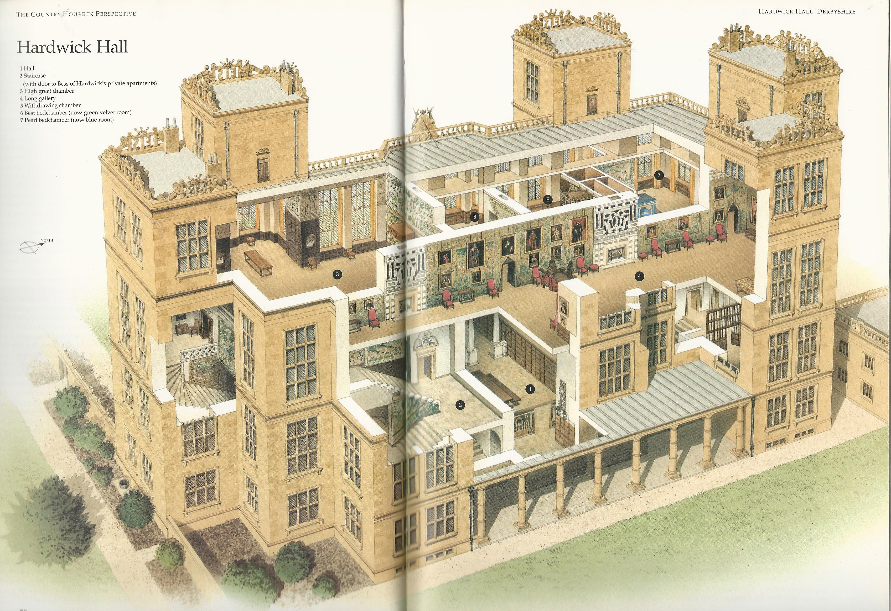 Floor Plan Of Highclere Castle Google Search Exterior