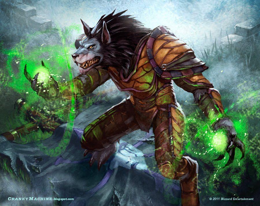 Worgen Druid World Of Warcraft Cool Pics Warcraft Art World