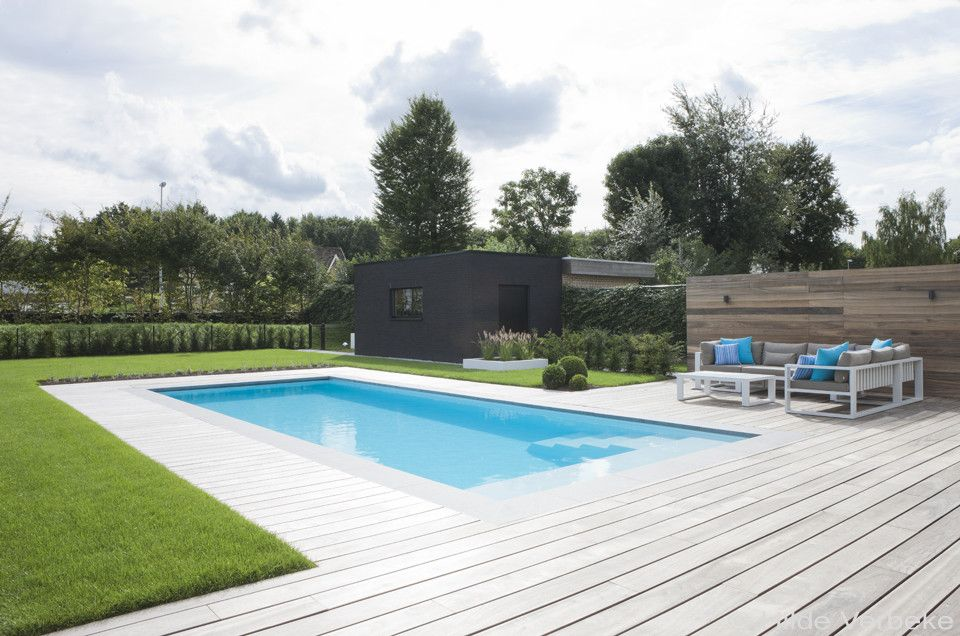 Zwembad zwembad zwemvijver pinterest swimming pools and modern pools for Modern zwembad