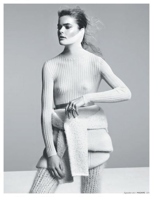 'High Caliber' Jess Gold by Nicolas Valois for Madame Germany September 2014 [Editorial] - Fashion Copious