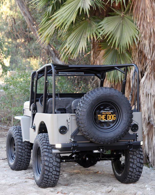 Icon Cj3b Willys Jeep Jeep Cj 1997 Jeep Wrangler