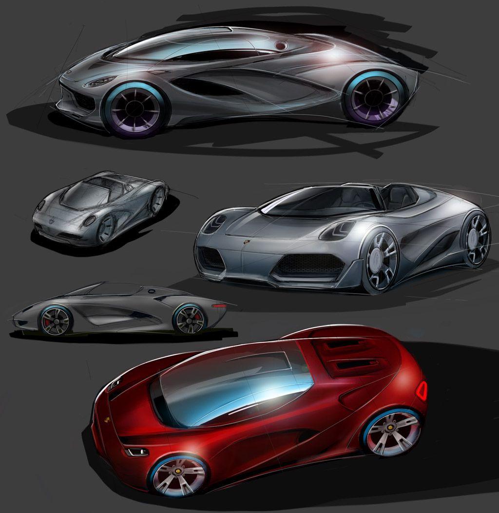 Porsche Supercar Concept Porsche Cars Near Me Concept