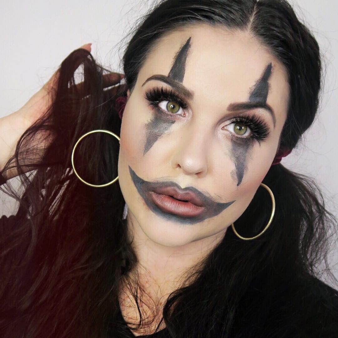 Easy Halloween Makeup Glam Clown Makeup Look