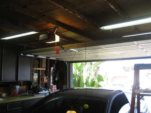 Automatic Garage Parking Aid Automatic Garage Parking Garage Tennis Balls