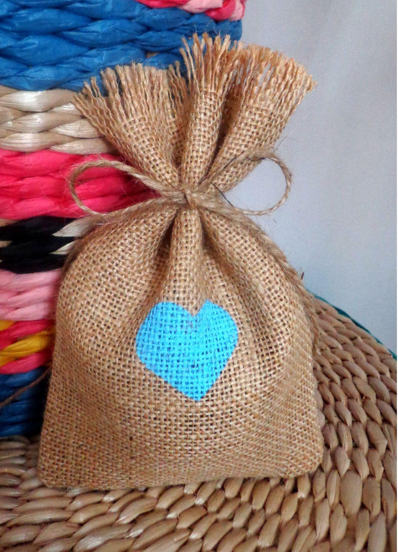 737638980 saco de yute para recuerdo de boda saco de arpillera para boda bolsa de  arpillera para recuerdo