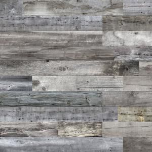 3 8 In X 6 In X 64 In Mountain Music Interior Accent Wall Covering 8 Box 129201 The Home Depot Wooden Accent Wall Accent Wall Panels Rustic Wood Walls