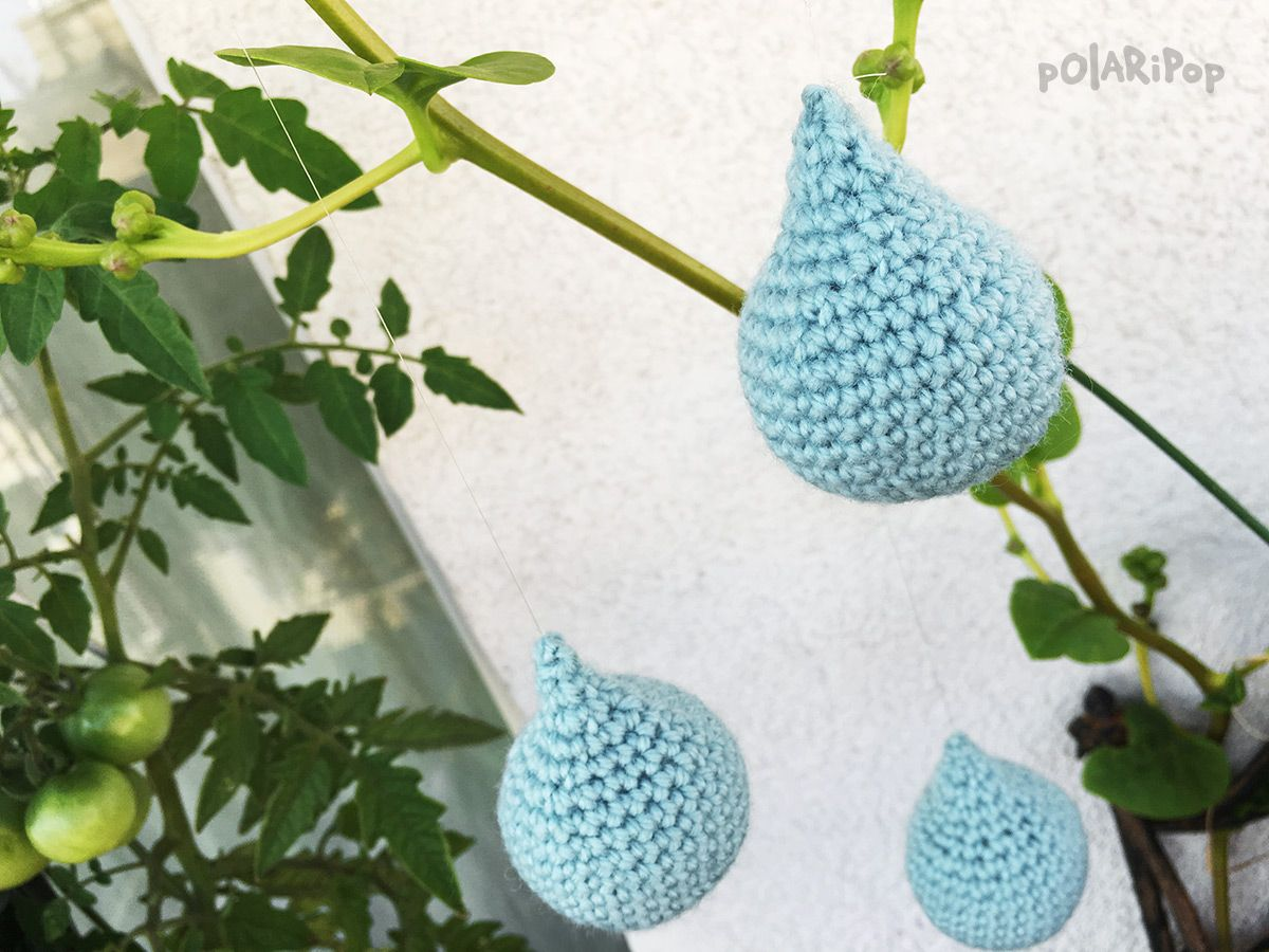 Amigurumi raindrops decoration tree ornament free amigurumi raindrops decoration tree ornament free crochet crochet patterns for beginnersnursery bankloansurffo Image collections