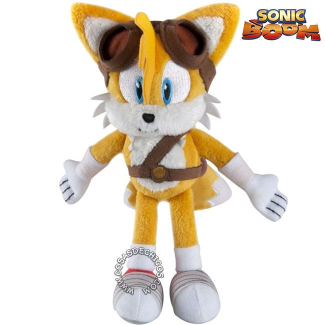 New Sonic the Hedgehog Tails 8 inch Plush Toy Soft Stuffed Anime Doll
