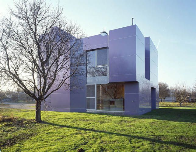 Alucobond Spectra Fassade Style At Home Architekt Fassade
