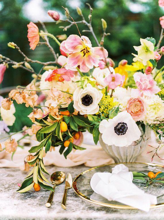 Glam spring garden wedding ideas | Reception | Pinterest | Garden ...