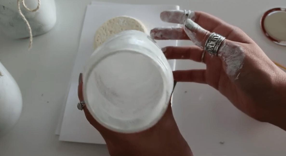 Windlicht selber machen, DIY Dekoration, Kerzenglas selber machen