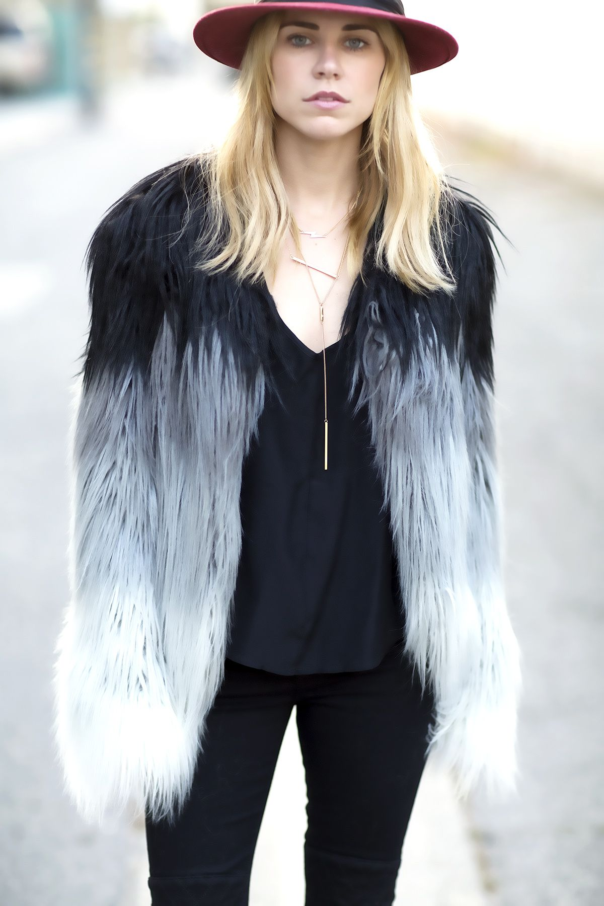 guess marciano faux fur coat   style   pinterest   fur coat, fur