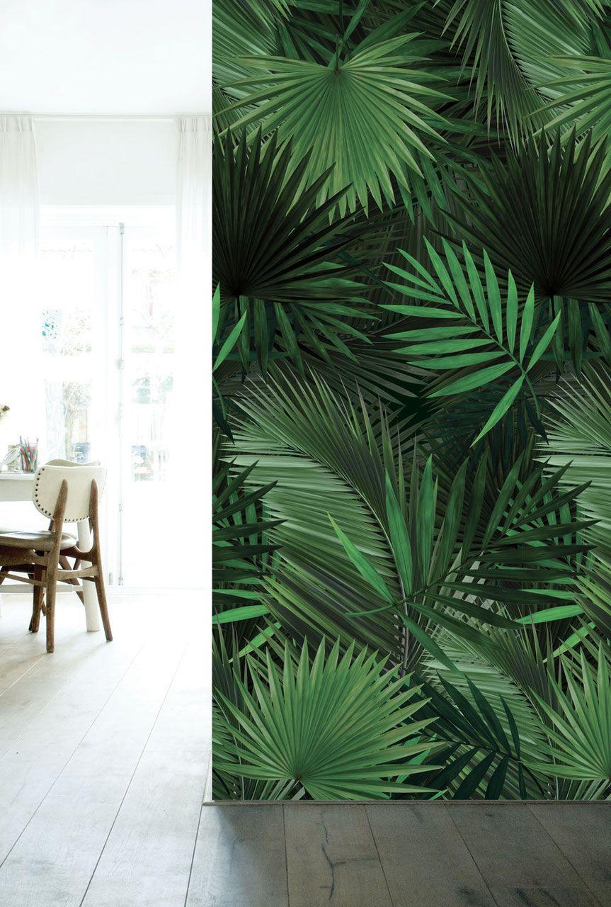 Geef je interieur in no-time een tropische tint met ons behang met ...
