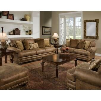 Living Room Sets Rooms To Go Ansel Park Brown 8 Pc Living Room 1155650p Artofit