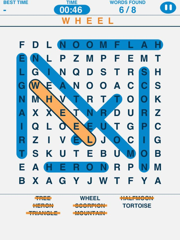 Word Search Puzzles App by IceMochi Word search puzzles