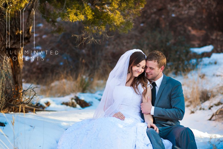 #mormonwedding #maob #winterwedding #LDS #Bride |Southeast, UT Photographer