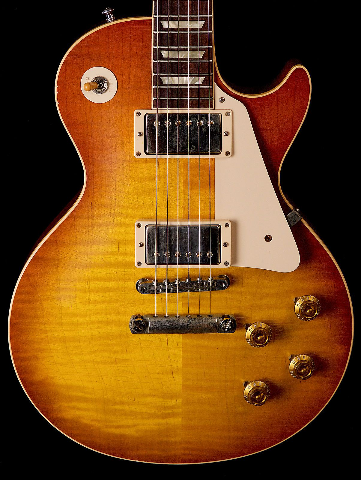 gibson custom shop eric clapton 1960 beano les paul aged signed 2011 sunburst gibson les. Black Bedroom Furniture Sets. Home Design Ideas