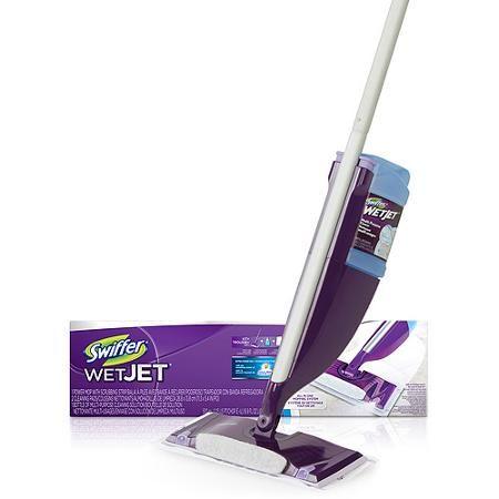 Swiffer Wetjet Mop Starter Kit 1 Mop 5 Pads 1 Floor Cleaning Solution Walmart Com Swiffer Floor Cleaning Solution Cleaning Solutions