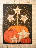 Kathy Hunter Folk Art Fall Folk & Primitive