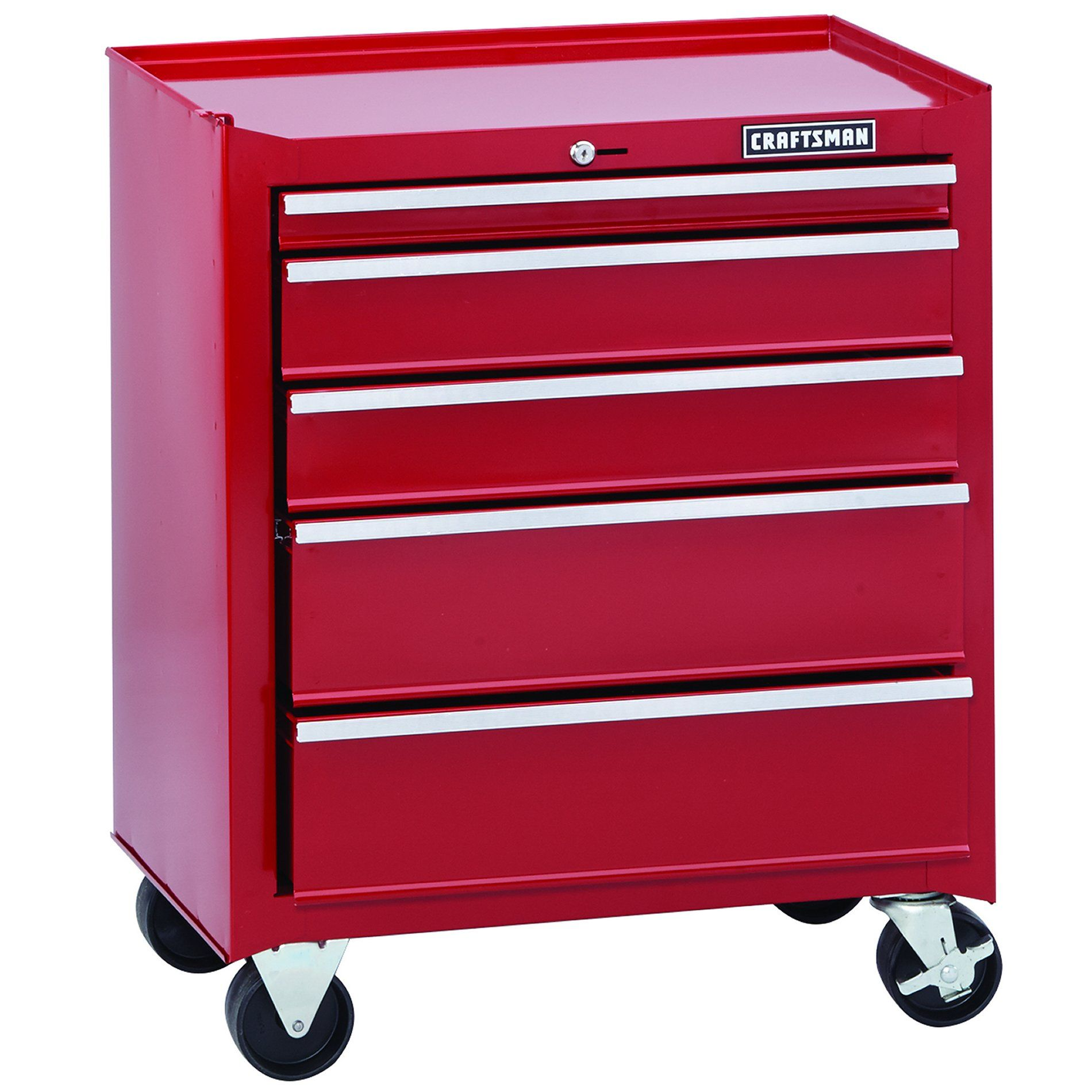 Rare Vintage Grey Red Craftsman Tool Box Chest 10 Drawer 65282 9 Drawer 65039 Ebay Craftsman Tools Chest Craftsman Tools Metal Storage Cabinets