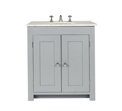 Solid Wood Bathroom Vanities Cabinets bathroom vanity cabinet with undermount sink - freestanding solid