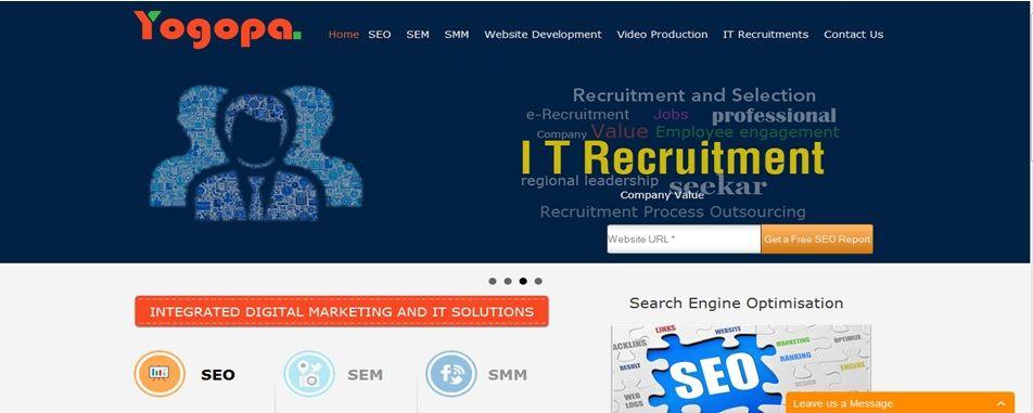 Yogopa No1 Leading Web Development And Graphics Design Web Design Company Based On Online Marketing Strategies Seo Service Provider