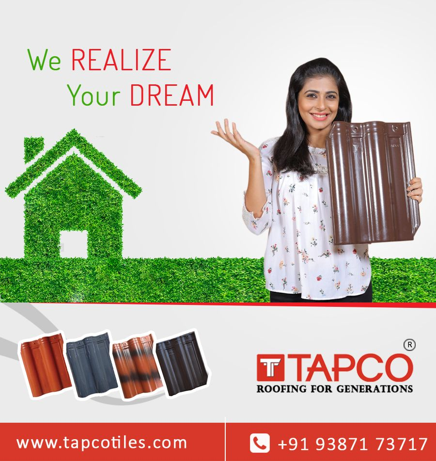We Realize Your Dream! #ceramic #roofing #claytiles