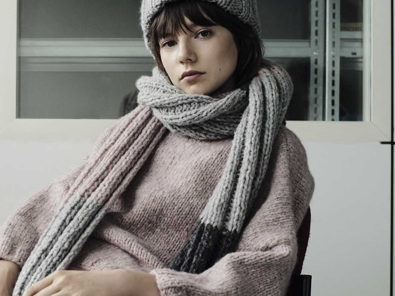 Strickanleitung für einen Wollschal | Schal stricken