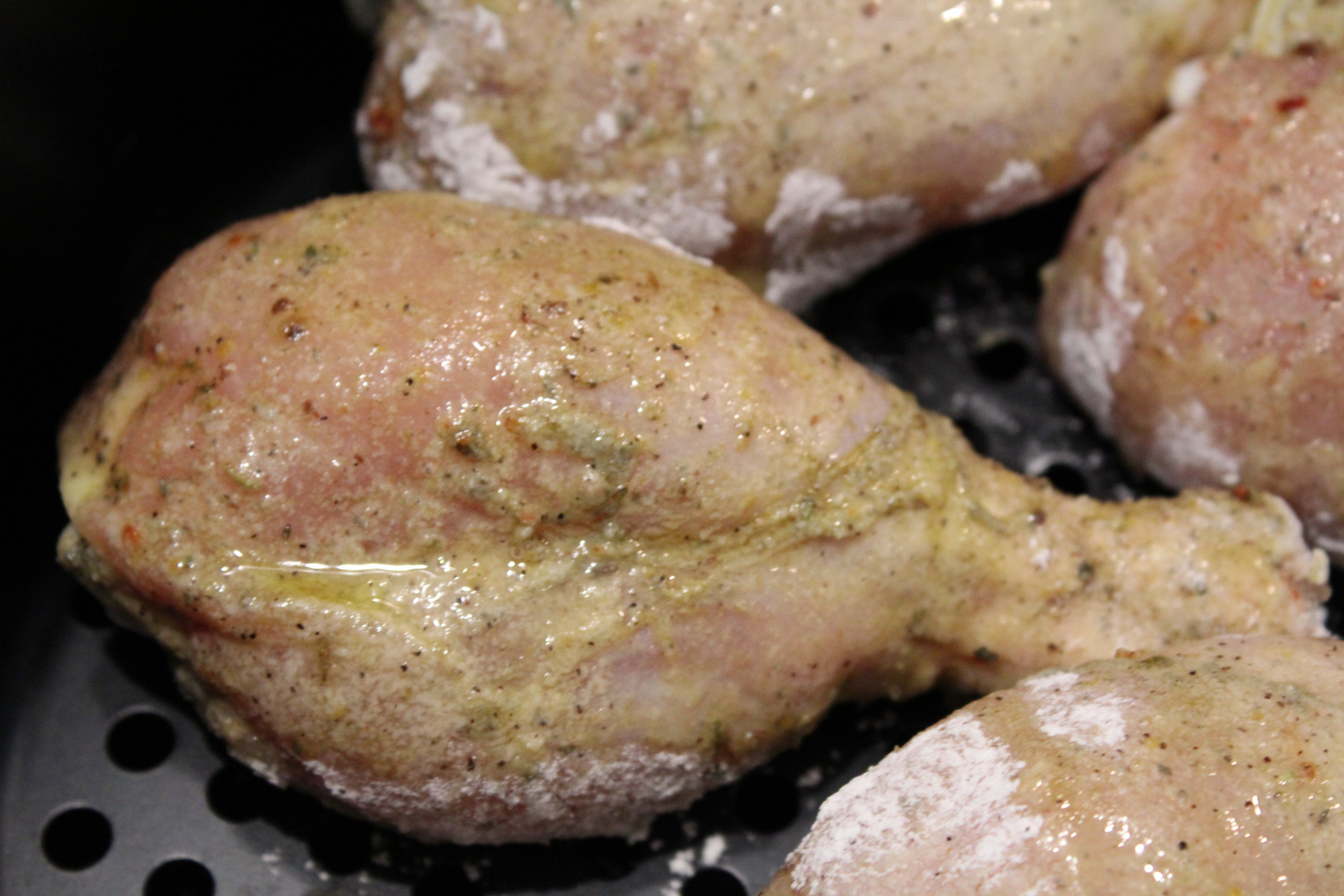 """Air FryerKentucky Kernel """"Fried Chicken"""" Chicken"""