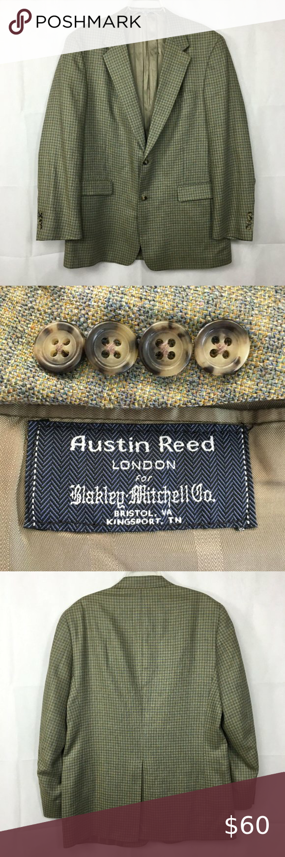 Austin Reed Beige Gray Silk Tweed Sport Coat 44l In 2020 Tweed Sport Coat Silk Tweed Gray Silk