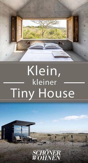 Tiny House kleiner wohnen Micro haus, Winzige häuser