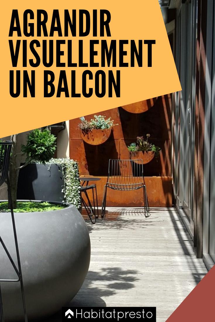 Epingle Sur Amenagement D Un Balcon