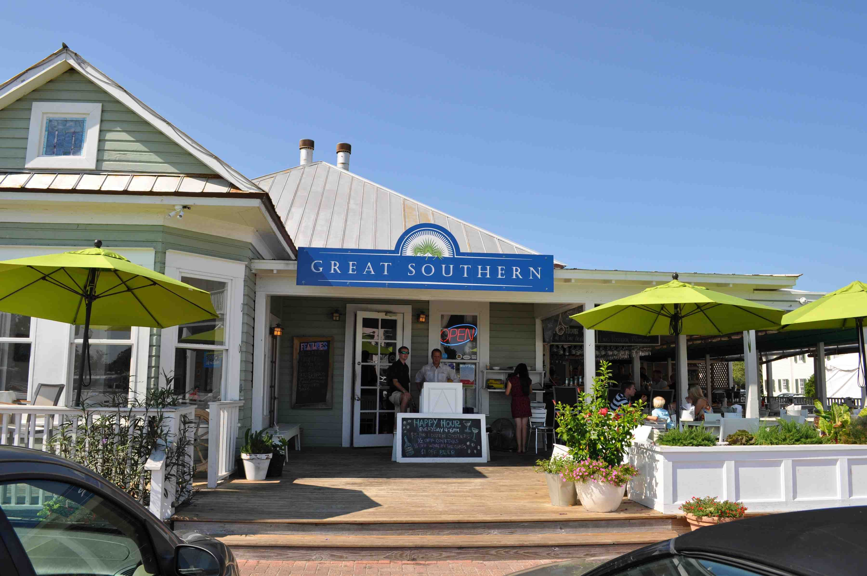 Seaside Florida 30a Sowal South Walton Beaches Vacation 30 A Fl Great Southern Cafe