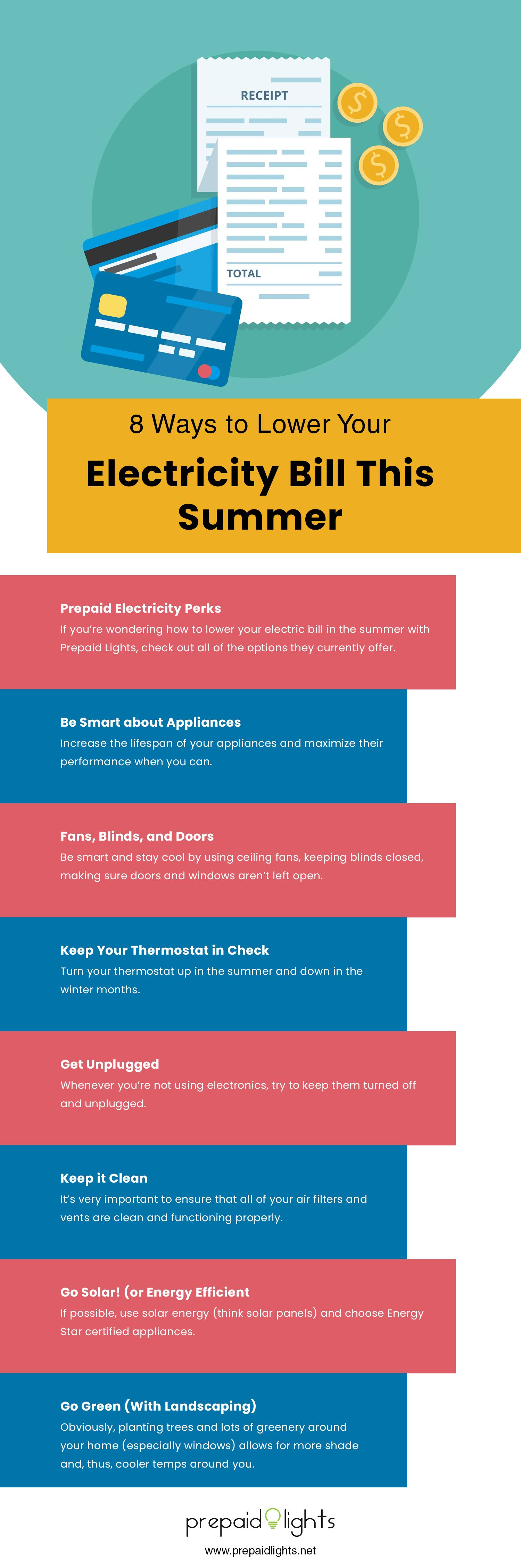 8 Ways To Lower Your Electricity Bill This Summer In 2020 Prepaid Electricity Electricity Bill Household Hacks