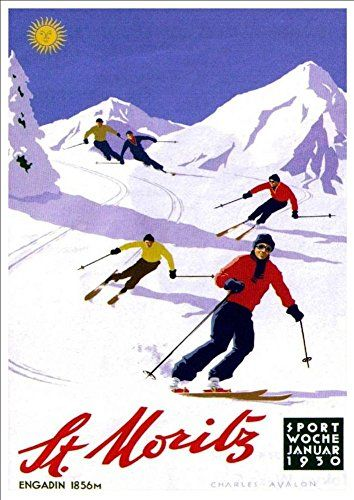 Pin by Christine Baume on Image in 2019 | Vintage ski