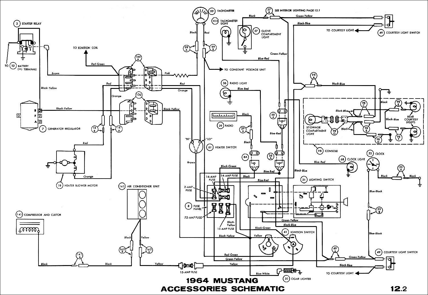 awesome 1966 ford mustang wiring diagram in 2020 | 1965 mustang, mustang,  1966 ford mustang  pinterest