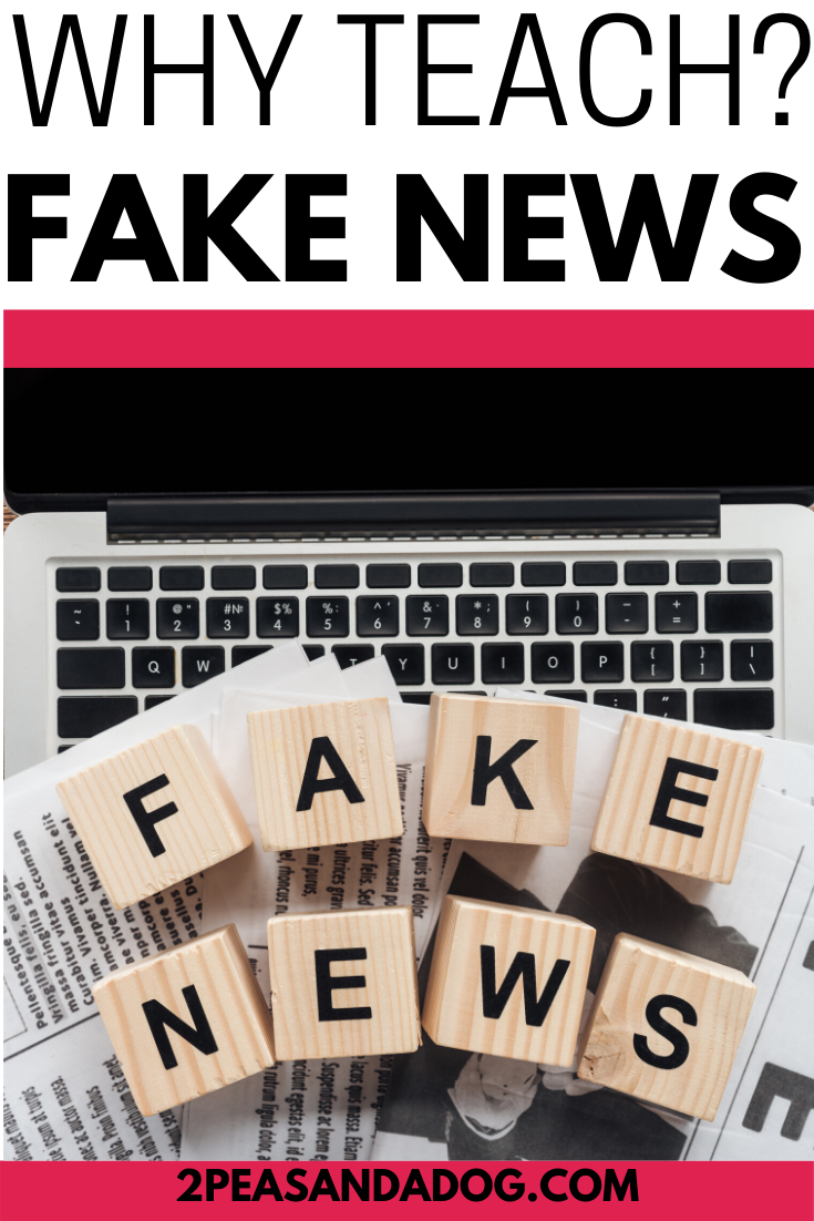 Why Teach Fake News In The Middle School Ela Classroom Middle School Ela Lessons Teaching Middle School Ela Classroom