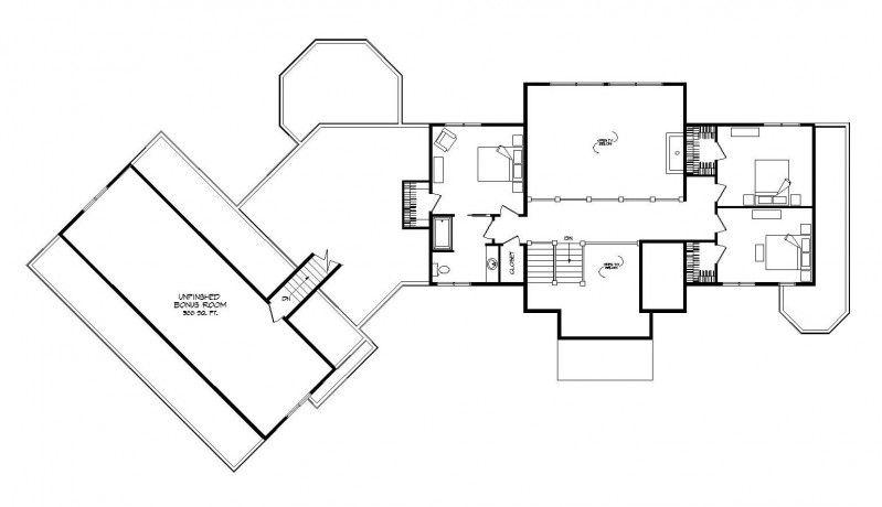 Aurora - Log Homes, Cabins and Log Home Floor Plans - Wisconsin Log