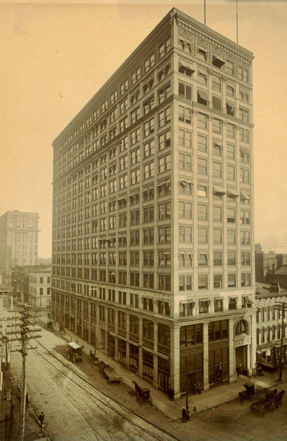This Was Atlanta S Empire Building Circa 1900 Building An Empire Atlanta Skyline Atlanta