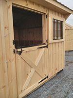 Good DIY stall door instructions