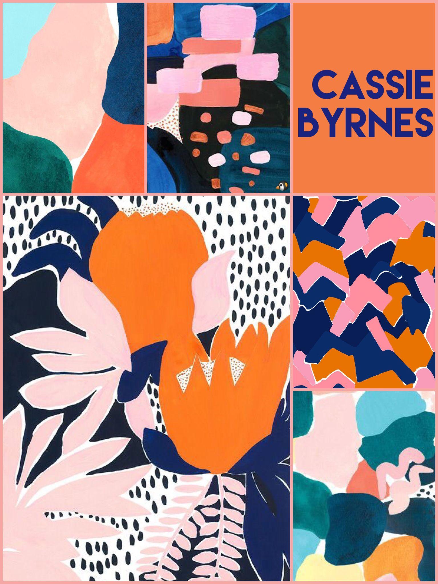 cassie byrnes australian painter illustrator artist in 2018