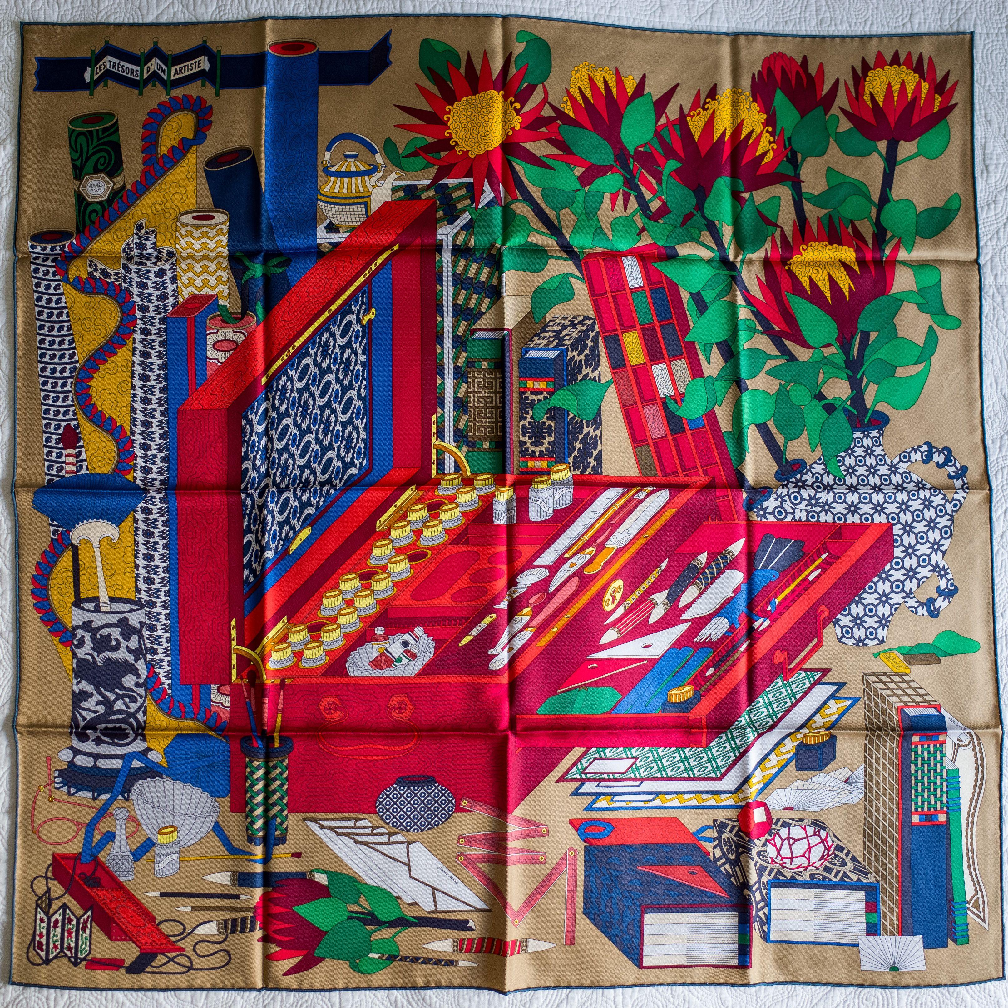 GABRIELLE S AMAZING FANTASY CLOSET   Hermes Les tresors d un Artiste by  Pierre Marie 0761c0405e2